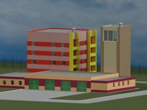 Скачать бесплатно дипломный проект ПГС Диплом № Пожарное  Диплом №1090 Пожарное депо в г Печора