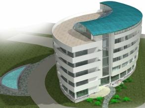 Скачать бесплатно дипломный проект ПГС Диплом № Гостиница в  Диплом №1041 Гостиница в пос Гантиади Гагрского района Абхазии