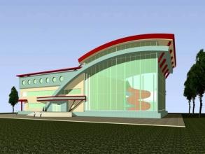 Скачать бесплатно дипломный проект ПГС Диплом № Детский  Диплом №1106 Детский развлекательный центр с аквапарком Нептун в г Тюмень