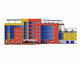 Скачать бесплатно дипломный проект ПГС Диплом № Офисный  Диплом №1143 Офисный центр с паркингом в г Белгород