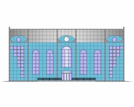 Скачать бесплатно дипломный проект ПГС Диплом №  Диплом №1168 Многофункциональный спортивный комплекс в г Речица