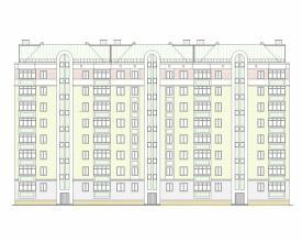 Скачать бесплатно дипломный проект ПГС Диплом № этажный  Диплом №2102 8 этажный жилой дом с монолитным каркасом в г Уфа