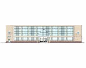 Скачать бесплатно дипломный проект ПГС Диплом № Выставочный  Диплом №1180 Выставочный зал с магазином строительных материалов в г Сургут