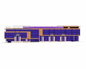 Скачать бесплатно дипломный проект ПГС Диплом №  Диплом №1189 Многофункциональный торгово развлекательный комплекс в г Курск