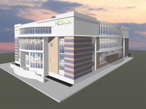 Скачать бесплатно дипломный проект ПГС Диплом № Торгово  Диплом №1190 Торгово офисный центр в г Самара