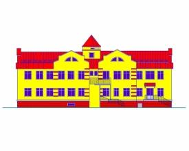 Скачать бесплатно дипломный проект ПГС Диплом № Детский сад  Диплом №1201 Детский сад на 40 мест в г Сургуте
