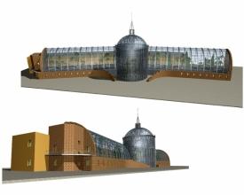 Скачать бесплатно дипломный проект ПГС Диплом №  Диплом №1213 Строительство оранжерейного комплекса на территории городского зоопарка в г Москве